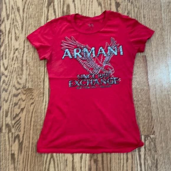 T shirt Armani exchange size xs good condition